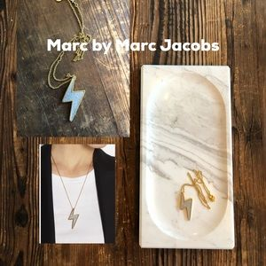 Marc by Marc Jacobs Lightening Bolt Necklace